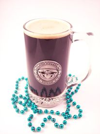 picture of claddagh  - A festive pint of a dark irish stout - JPG