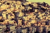 Silwan Village in Jerusalem, Israel