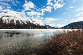 foto of engadine  - beautiful mountain landscape - JPG