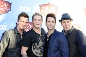 LAS VEGAS - DEC 10:  Parmalee  - Josh McSwain, Barry Know, Scott Thomas, Matt Thomas at the 2013 Ame