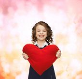 image of pre-teen girl  - love - JPG