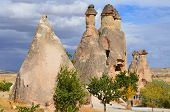 foto of goreme  - Probably the best known feature of Cappadocia - JPG
