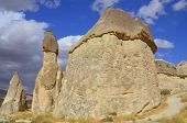 stock photo of goreme  - Probably the best known feature of Cappadocia - JPG