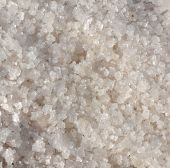 stock photo of sea salt  - Natural sea salt harvested from salt paddies - JPG