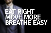 picture of breathing exercise  - Eat Right - JPG
