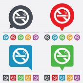 picture of quit  - No Smoking sign icon - JPG