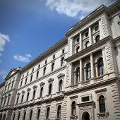 stock photo of treasury  - London England  - JPG