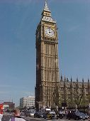 picture of big-ben  - big ben and the house - JPG