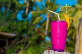 pic of fruit shake  - tropical shake - JPG