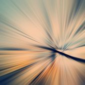 picture of divergent  - abstract colored background divergent rays orange blue - JPG