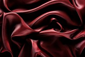 image of marsala  - Abstract wave textile texture or background in marsala color - JPG