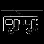 picture of municipal  - Trolleybus city municipal public transport - JPG