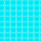 stock photo of cosmos flowers  - sky blue cosmos seamless pattern background - JPG
