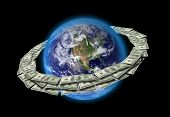 foto of internet-banking  - Dollars Around The World - JPG