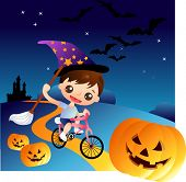 picture of casper  - halloween night series - JPG