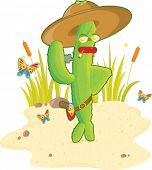 stock photo of sherif  - cactus man  - JPG
