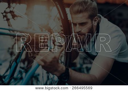 Bicycle Shop Bicycle Repair Salesman