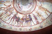 Постер, плакат: деталь фрески в могиле фракийского царя Казанлык Болгария