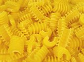 foto of pene  - Pasta shapes background - JPG