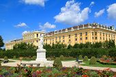 picture of schoenbrunn  - A UNESCO World Cultural Heritage - JPG
