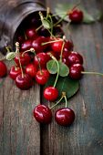 image of cherries  - Fruit food concept - JPG