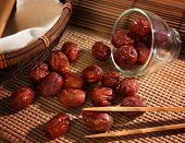 pic of eatables  - Dried red date or Chinese jujube - JPG