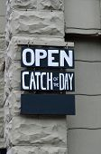 Catch of the Day Sign
