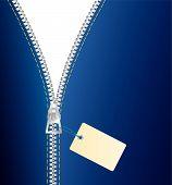 Постер, плакат: Продажа застежка молния
