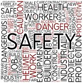 stock photo of personal safety  - Word cloud  - JPG