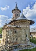 picture of humility  - Image of Neamt MonasteryMoldaviaRomania.It is a Romanian Orthodox religious settlement one of the oldest and most important of its kind in Romania. It was built in 14th century and it is an example of medieval Moldavian architecture.
