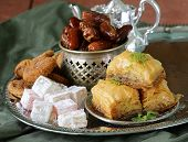 image of baklava  - Assorted eastern sweets  - JPG