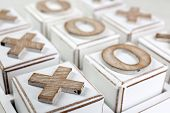 stock photo of tic  - Game of Tic Tac Toe - JPG