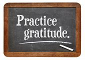 stock photo of  practices  - practice gratitude  - JPG