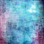 picture of blue  - Abstract old background or faded grunge texture - JPG