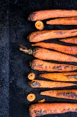 picture of dutch oven  - Baked in the oven on a baking carrot - JPG