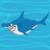 picture of caricatures  - hammerhead shark - JPG