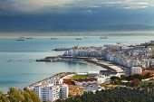 stock photo of algiers  - Algiers the capital city of Algeria - JPG