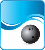 image of bowling ball  - classy bowling ball background - JPG