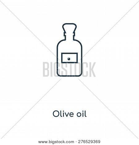 Olive Oil Icon In Trendy