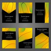 Minimal Vector Covers Set. Future Geometric Trendy Gradient Design. Abstract Gradient Pattern Backgr poster