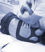 Physiotherapy Osteopathy Physiotherapist poster