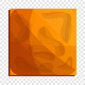 Square Crack Biscuit Icon. Cartoon Of Square Crack Biscuit Icon For Web Design poster