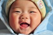 pic of edentate  - a big laugh from baby - JPG