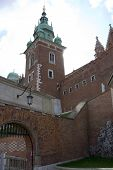 Monument Of King In Wawel Castle. Krakow. Poland. Medieval History Memorial poster