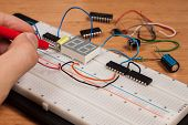 Testing Electrical Circuit On Breadboard