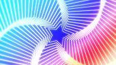 Постер, плакат: Звезды излучения красочные 1