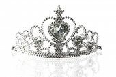 foto of beauty pageant  - Beautiful little silver crown - JPG