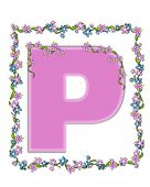pic of letter p  - The letter P - JPG
