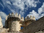 Rhodes Medieval Knights Castle (Palace), Greece