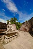 foto of polonnaruwa  - Historical Polonnaruwa capital city ruins in Srilanka - JPG